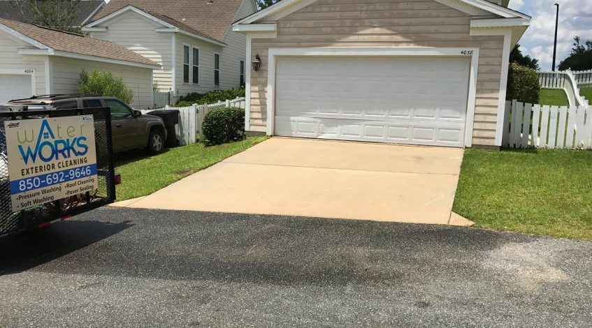 Tallahassee driveway cleaning